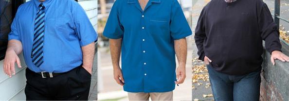 Стильная Одежда Для Полных Мужчин Фото